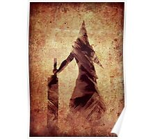 Silent Hill Pyramid Head Illustration Poster