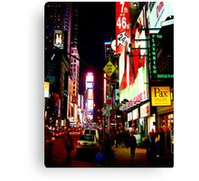 Night in the City I Canvas Print