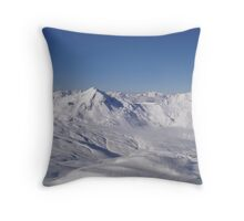 Mountain Tops 2 Throw Pillow