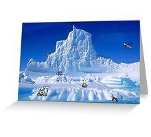 Glacier Pokemon Greeting Card