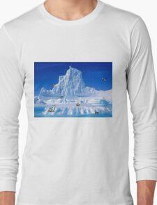 Glacier Pokemon Long Sleeve T-Shirt