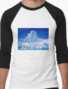 Glacier Pokemon Men's Baseball ¾ T-Shirt