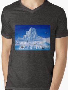 Glacier Pokemon Mens V-Neck T-Shirt
