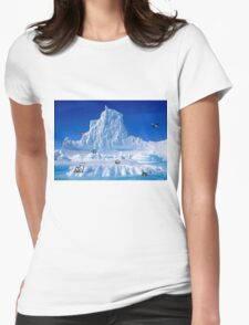 Glacier Pokemon Womens Fitted T-Shirt