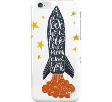 Space Love  iPhone Case/Skin