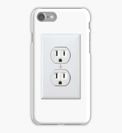 There's never an outlet where you need one. iPhone Case/Skin