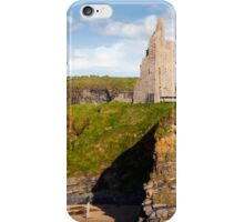 view of the  Ballybunion castle beach and cliffs iPhone Case/Skin
