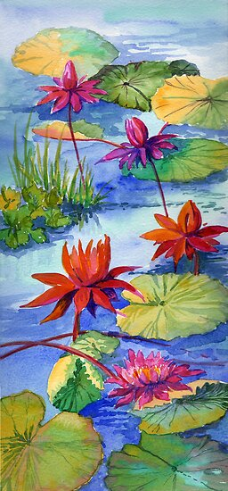 Waterlilies by Maureen Whittaker