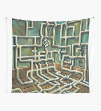 The Pipeline Wall Tapestry