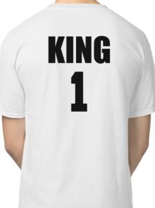 KING (Black) The His of The His and Hers couple shirts Classic T-Shirt