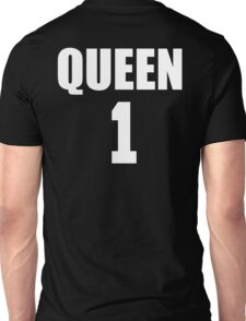 Queen (White) The Hers of the His and Hers Unisex T-Shirt