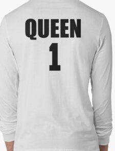 Queen (Black) The Hers of the His and Hers Long Sleeve T-Shirt
