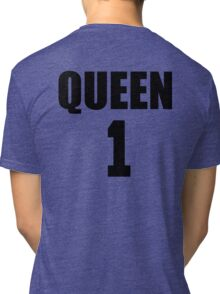 Queen (Black) The Hers of the His and Hers Tri-blend T-Shirt