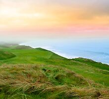view of the Ballybunion links golf course by morrbyte