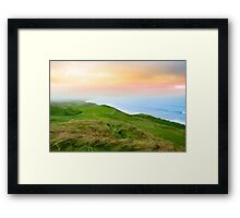 view of the Ballybunion links golf course Framed Print
