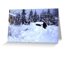 Dad, I Found The Car! Greeting Card