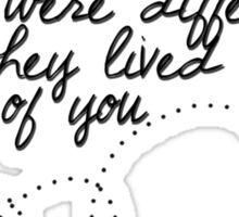 Words Sticker