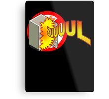 Zuul in the Refrigerator Metal Print