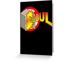 Zuul in the Refrigerator Greeting Card