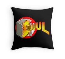 Zuul in the Refrigerator Throw Pillow