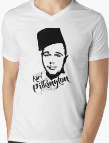 Karl Pilkington - Fez Mens V-Neck T-Shirt
