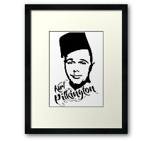 Karl Pilkington - Fez Framed Print