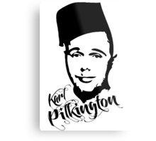 Karl Pilkington - Fez Metal Print