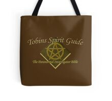 Tobins Spirit Guide - The Paranormal Bible Tote Bag
