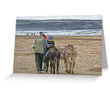 Beach Ride~ Greeting Card