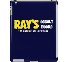 Rays Occult Books New York iPad Case/Skin
