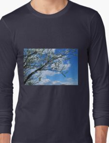 Spring Tree Blossoms Long Sleeve T-Shirt