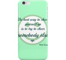 Cheer up! iPhone Case/Skin