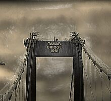 Tamar Bridge by Kerensa Davies