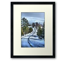 Vermont Country Landscape Framed Print