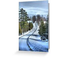 Vermont Country Landscape Greeting Card