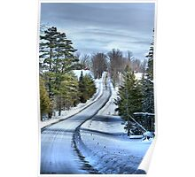Vermont Country Landscape Poster