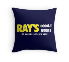 Rays Occult Books New York Throw Pillow