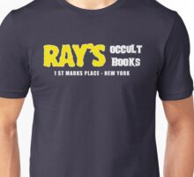 Rays Occult Books New York Unisex T-Shirt