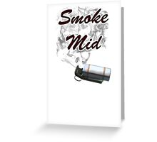 CS:GO - Smoke mid Greeting Card