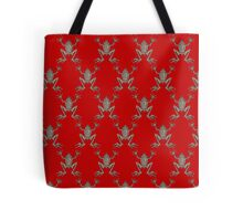 Fabulous Frogs - Bold Red Tote Bag