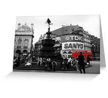 Picadilly Greeting Card