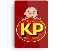 Karl Pilkington - KP Metal Print