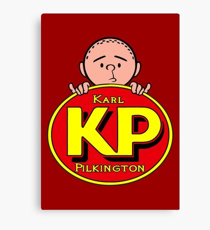 Karl Pilkington - KP Canvas Print