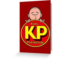 Karl Pilkington - KP Greeting Card