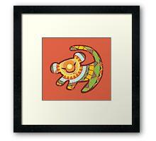 Simba One Framed Print