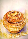 Delicious ..Cinnamon Bun by © Janis Zroback
