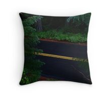 Mystique Road to Nowhere Throw Pillow