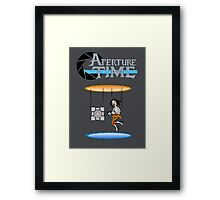 Aperture Time Framed Print