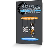 Aperture Time Greeting Card