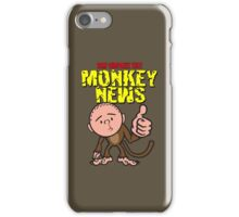 Karl Pilkington - Monkey News iPhone Case/Skin